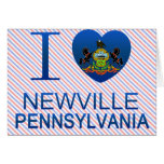 I Love Newville, PA Greeting Card