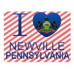 I Love Newville, PA Postcard