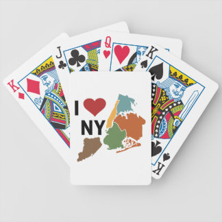 I Love Newyork Bicycle Playing Cards