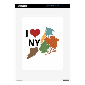 I Love Newyork Decal For iPad