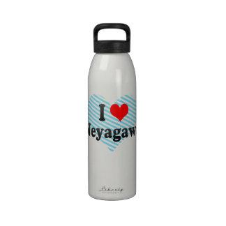 I Love Neyagawa, Japan. Aisuru Neyagawa, Japan Drinking Bottles