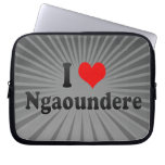 I Love Ngaoundere, Cameroon Computer Sleeve