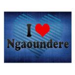 I Love Ngaoundere, Cameroon Postcard