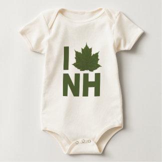 I Love NH Baby Bodysuit
