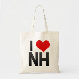 I Love NH Canvas Bags
