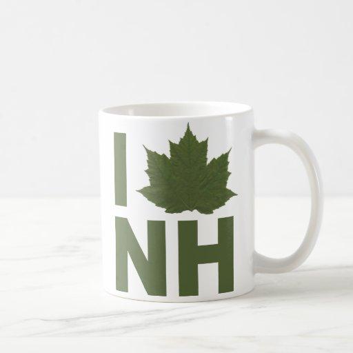 I Love NH Coffee Mug