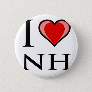 I Love NH - New Hampshire Button