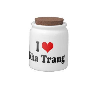 I Love Nha Trang, Viet Nam Candy Jar