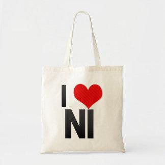 I Love NI Canvas Bag