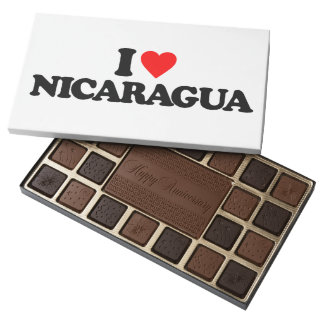 I LOVE NICARAGUA ASSORTED CHOCOLATES