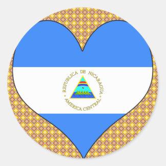 I Love Nicaragua Sticker