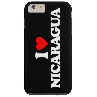 I LOVE NICARAGUA TOUGH iPhone 6 PLUS CASE
