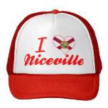 I Love Niceville, Florida Trucker Hat