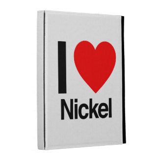 i love nickel iPad folio covers