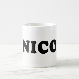 I LOVE NICOLE COFFEE MUG