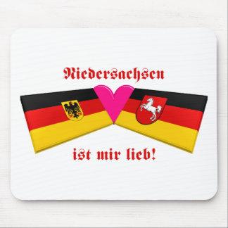I Love Niedersachsen ist mir lieb Mouse Pad