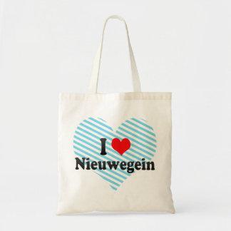 I Love Nieuwegein, Netherlands Canvas Bags