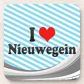 I Love Nieuwegein, Netherlands Drink Coaster