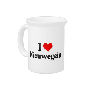 I Love Nieuwegein, Netherlands Drink Pitchers