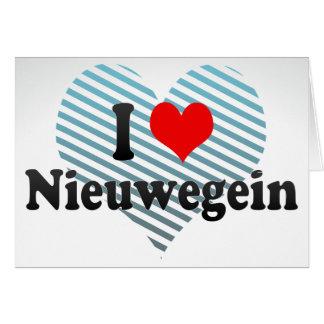 I Love Nieuwegein, Netherlands Greeting Card
