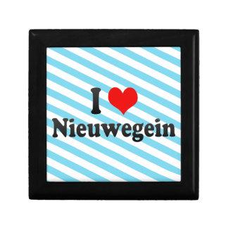 I Love Nieuwegein, Netherlands Jewelry Boxes