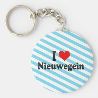 I Love Nieuwegein, Netherlands Key Chain