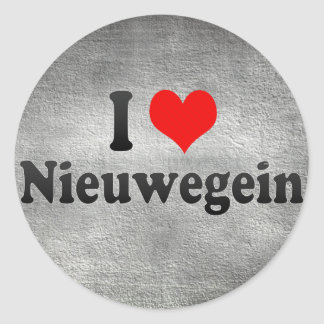 I Love Nieuwegein, Netherlands Stickers
