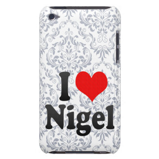 I love Nigel Barely There iPod Covers