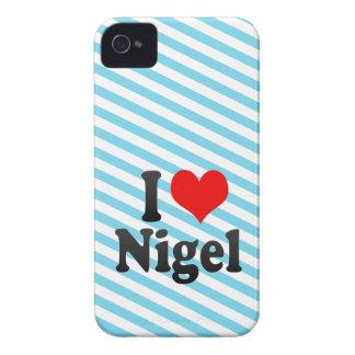 I love Nigel iPhone 4 Case-Mate Cases