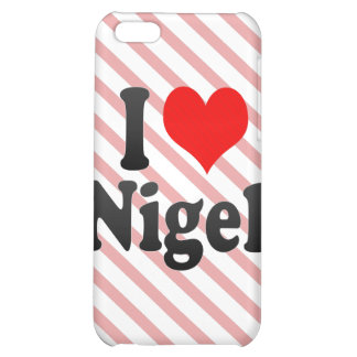 I love Nigel Case For iPhone 5C