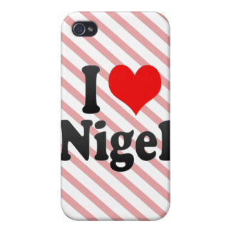 I love Nigel Cases For iPhone 4