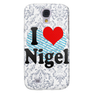 I Love Nigel, South Africa Galaxy S4 Covers