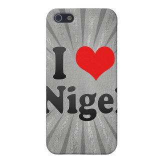 I Love Nigel, South Africa Covers For iPhone 5