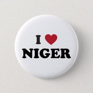 I Love Niger Pinback Button