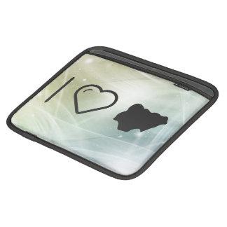 I Love Nigeria iPad Sleeves