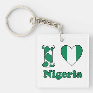 I love Nigeria Keychain