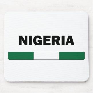 I Love Nigeria Mouse Pad