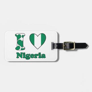 I love Nigeria Tag For Luggage