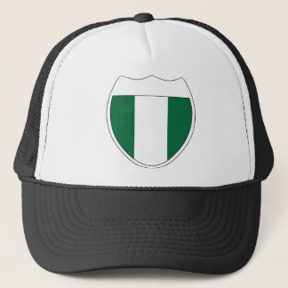 I Love Nigeria Trucker Hat