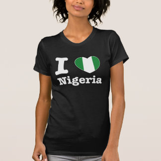 i love nigeria tee shirt
