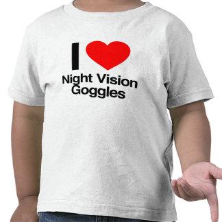 i love night vision goggles tee shirts