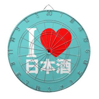 I love nihon-shu a k a sake rice wine dartboard