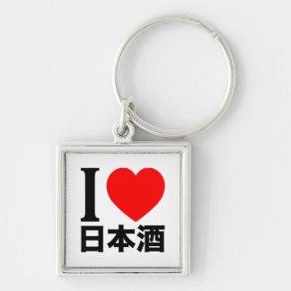 I love Nihon-shu (a.k.a. sake, rice wine) Keychain
