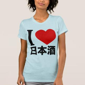 I love Nihon-shu (a.k.a. sake, rice wine) Tshirt