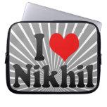 I love Nikhil Laptop Sleeve