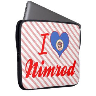 I Love Nimrod, Minnesota Computer Sleeve