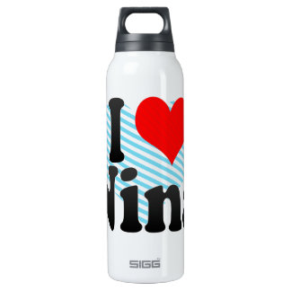I love Nina 16 Oz Insulated SIGG Thermos Water Bottle
