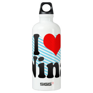I love Nina SIGG Traveler 0.6L Water Bottle