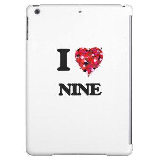 I Love Nine iPad Air Case