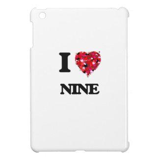 I Love Nine Case For The iPad Mini